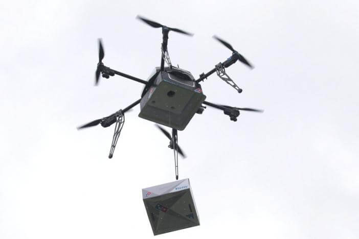 Domino�s Aims To Become World�s First Company To Offer A Regular Drone Service