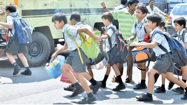 CBSE Asks Schools To Reduce Weight Of Bags To Ensure Good Health Of Kids