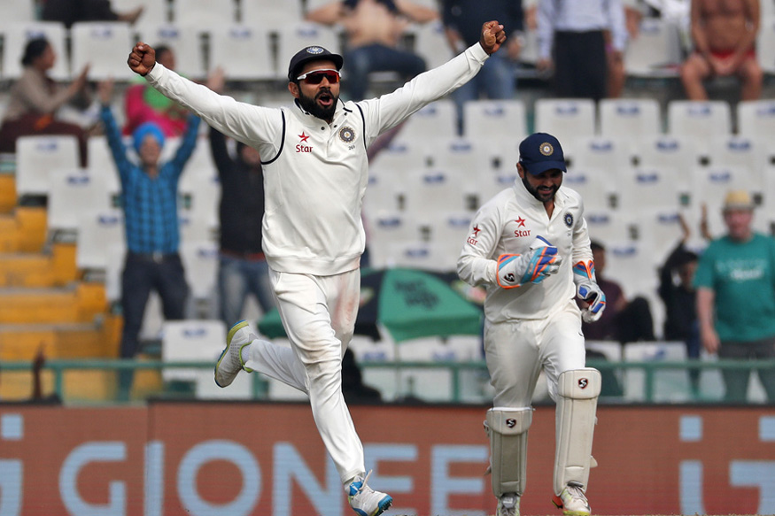 India have won seven, lost one and drawn five out of 13 Tests played at Mohali.